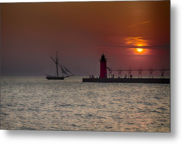 Home Bound Metal Print