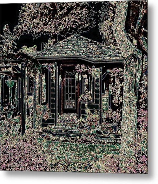 Home Entrance Metal Print