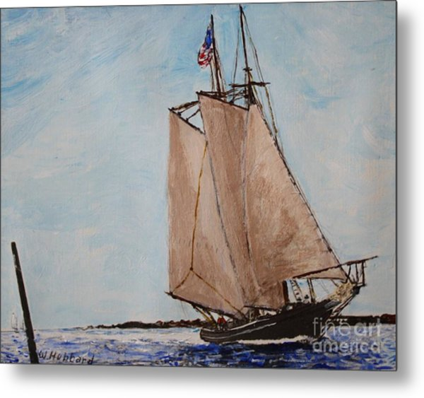 Home From The Banks Metal Print by Bill Hubbard