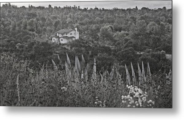 Home In The Hills Metal Print