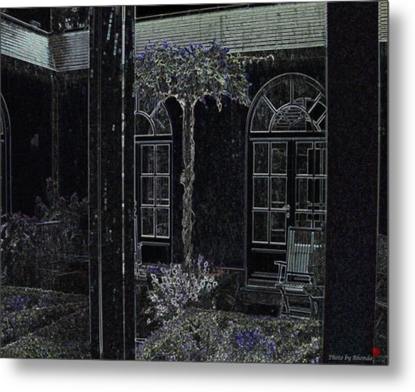Home Is Where The Heart Is Metal Print by Rhonda McDougall