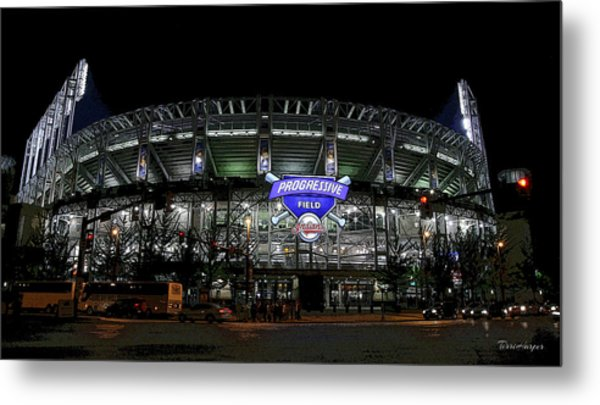 Home Of The Cleveland Indians Metal Print