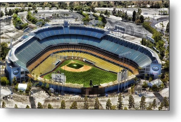 Home Of The Los Angeles Dodgers Metal Print