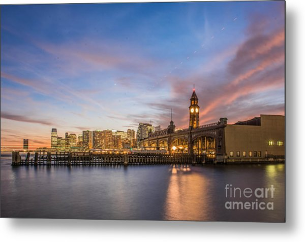 Home To Hoboken Metal Print