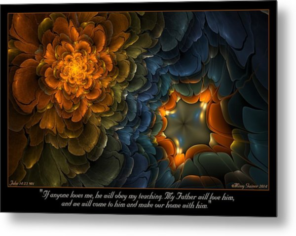 Home With Him Metal Print