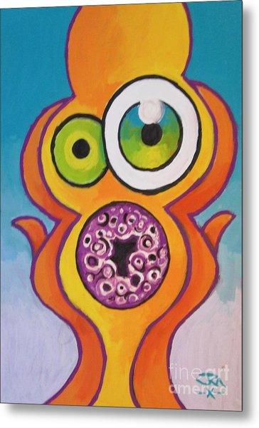 Homer's Scream Metal Print by Jedidiah Morley