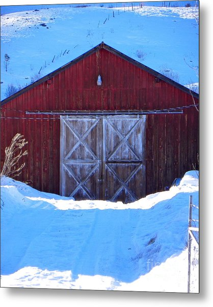 Homestead Barn Metal Print