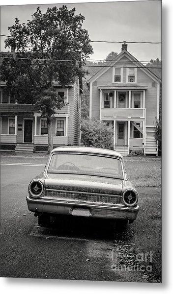 Hometown Usa Platium Print Metal Print