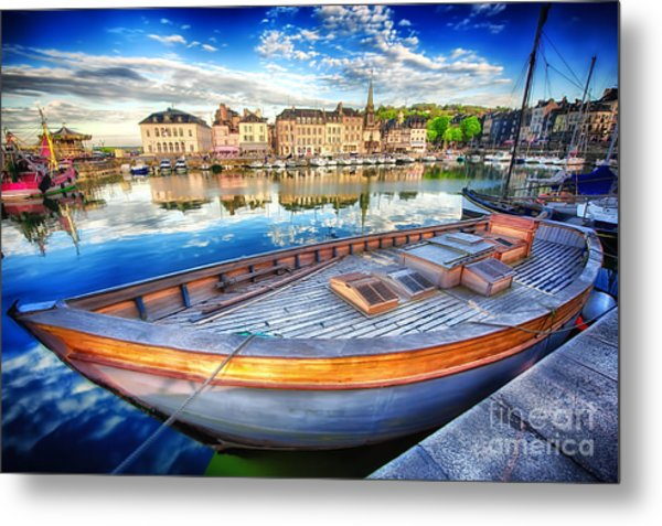 Honfleur At Rest Metal Print