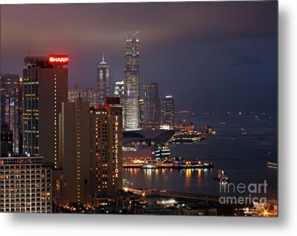 Hong Kong Metal Print by Lars Ruecker