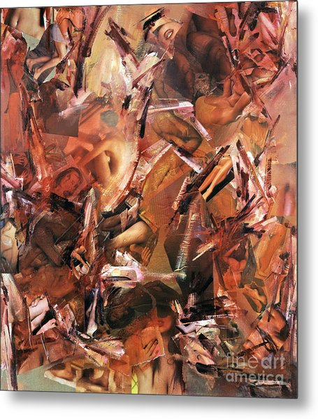 Honi Soit Qui Mal Y Pense ...lust Metal Print
