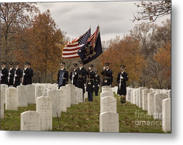 Honor Guard Metal Print