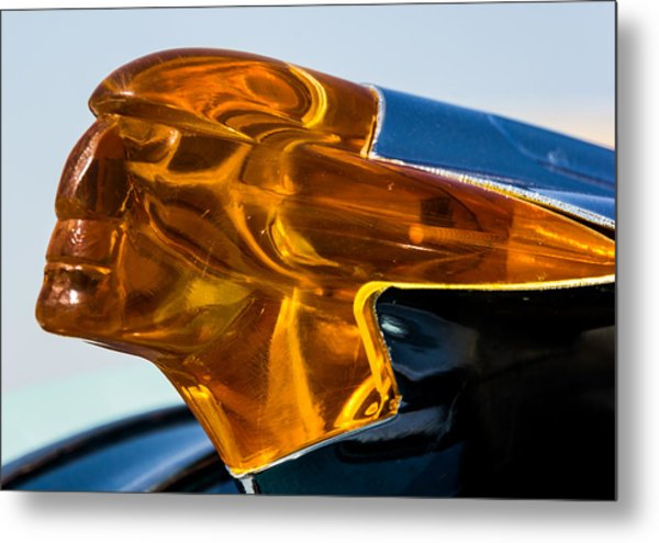 Hood Ornament  Metal Print