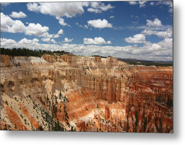 Hoodoos At Bryce Canyon Metal Print