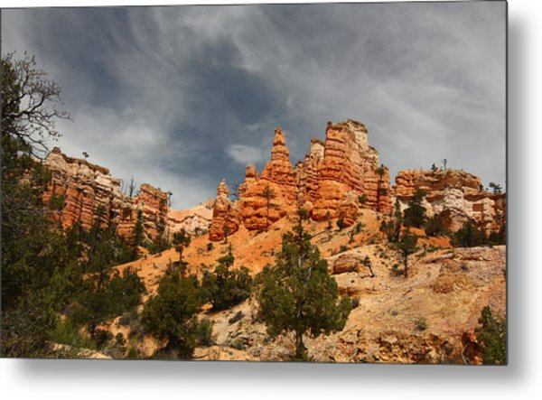 Hoodoos At Mossey Creek Trail Metal Print