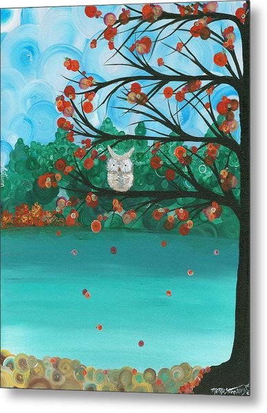 Hoolandia Seasons - Autumn Metal Print