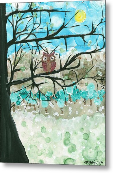 Hoolandia Seasons - Winter Metal Print