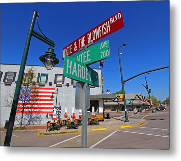 Hootie And The Blowfish Blvd Metal Print