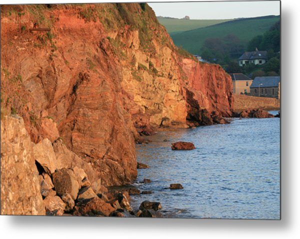 Hope Cove Metal Print