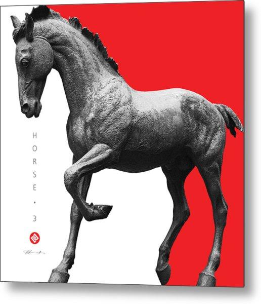 Horse 3 Metal Print