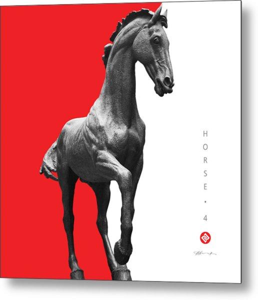 Horse 4 Metal Print