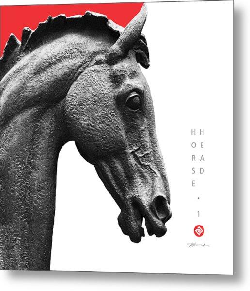 Horse Head 1 Metal Print