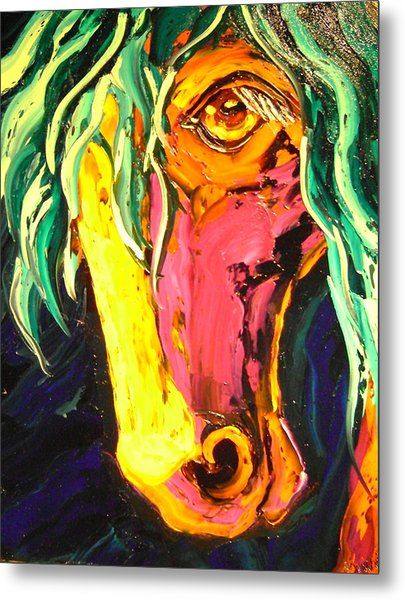Horse Metal Print by Isabelle Gervais