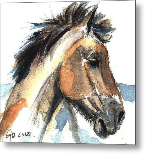 Horse-jeremy Metal Print