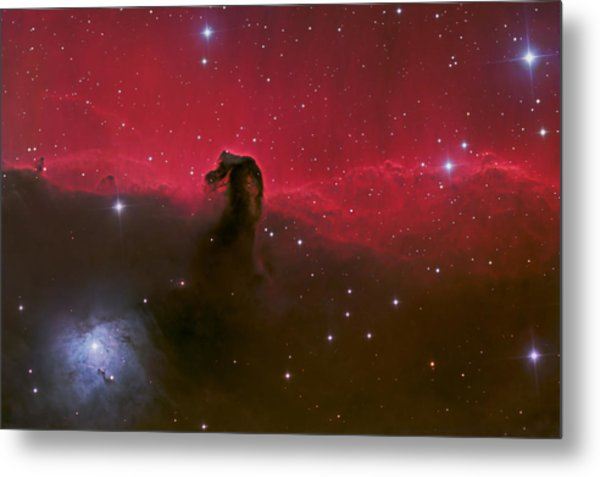Horsehead Nebula Metal Print by Brian Peterson