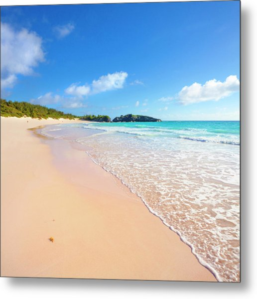 Horseshoe Bay Beach, Caribbean Sea Metal Print by Slow Images