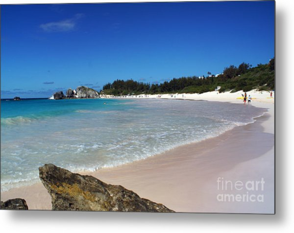 Horseshoe Bay Beach Metal Print