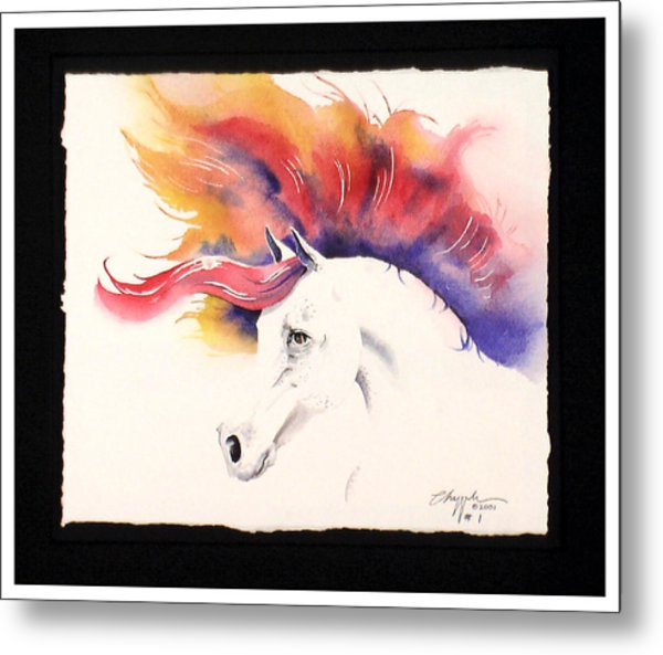 Horsin Around Number One Metal Print