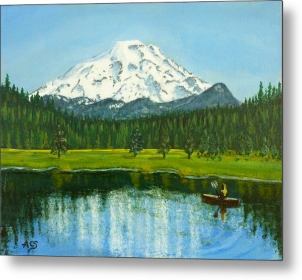 Hosmer Lake Metal Print