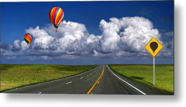 Hot Air Balloons Metal Print by Carlos Gotay