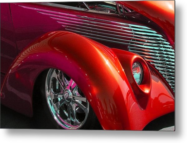 Hot Lips Metal Print