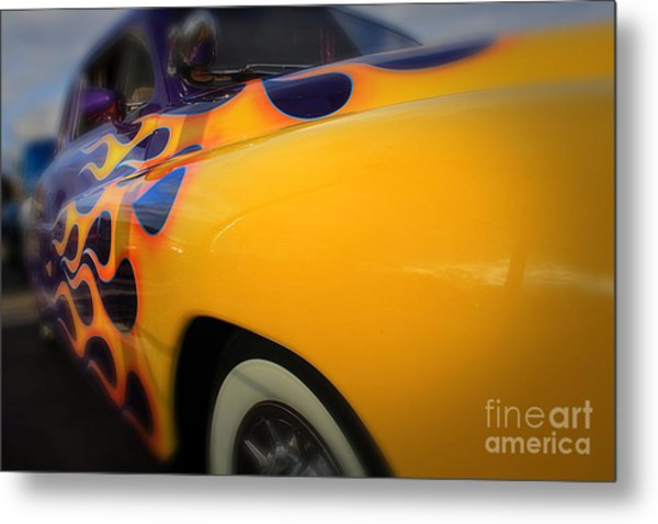 Hot Ride Metal Print