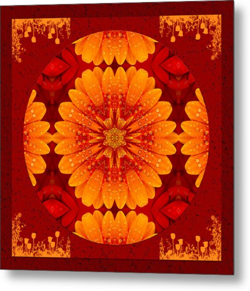 Hot Tropical Zen Metal Print