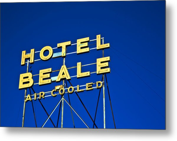 Hotel Beale Metal Print
