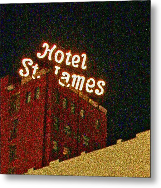 Hotel - St James San Diego Metal Print