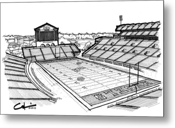 Hotty Toddy Metal Print