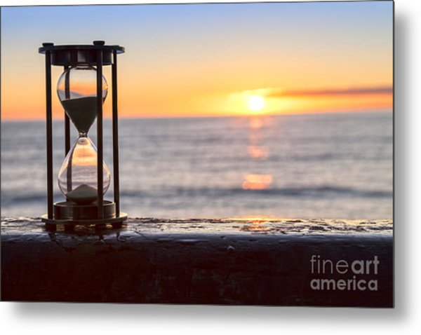 Hourglass Sunrise Metal Print by Colin and Linda McKie