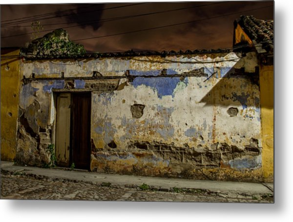 House In The Middle Metal Print by Christian Santizo