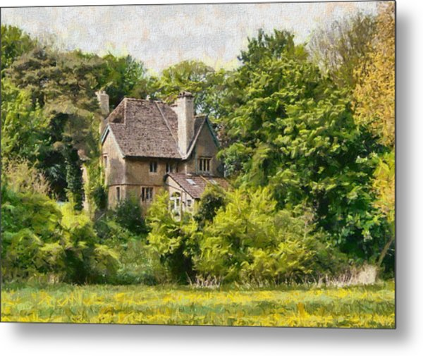 Metal Print featuring the photograph House In The Woods by Paul Gulliver