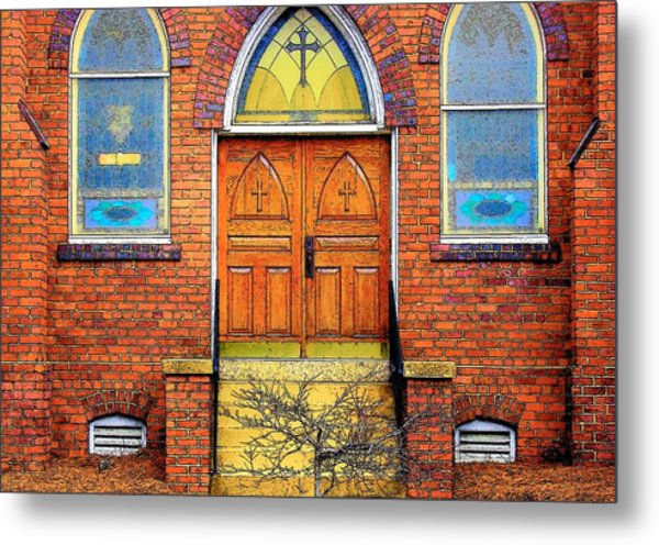 House Of God Metal Print