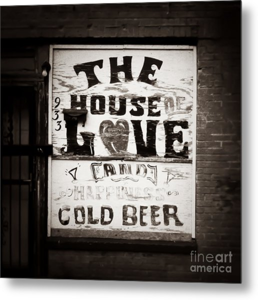 House Of Love Memphis Tennessee Metal Print