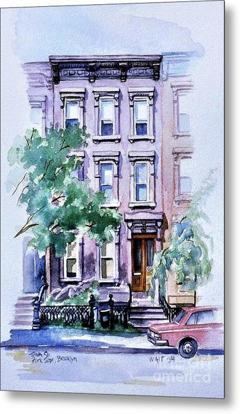 House On Tenth Street Metal Print