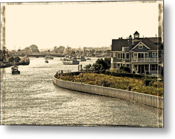 House On The Bay Metal Print