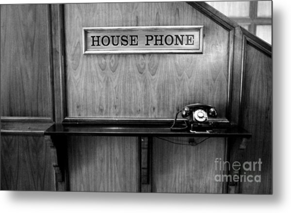 House Phone Metal Print