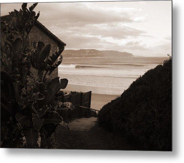 House With A View Metal Print by Waldemar  Van Wyk
