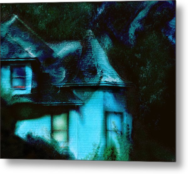 House With Soul   Metal Print